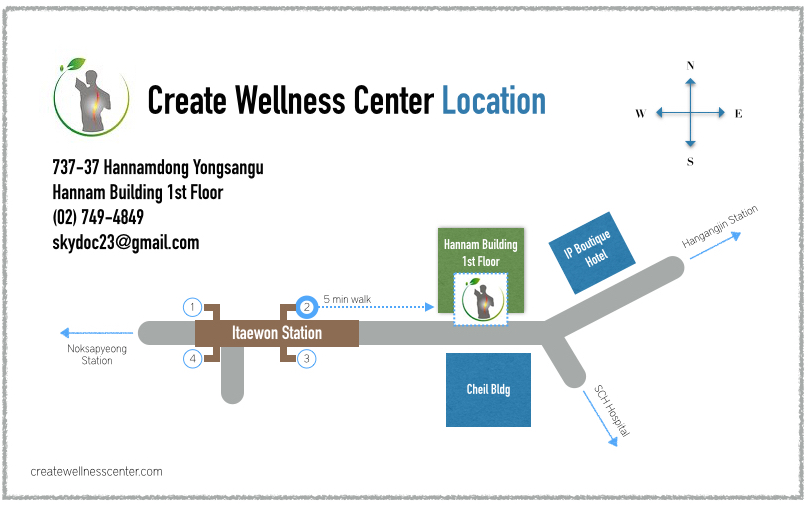 Locations Create Wellness Center Chiropractic and Sports Medicine
