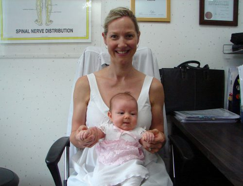 Baby Olivia & cranial osteopathy