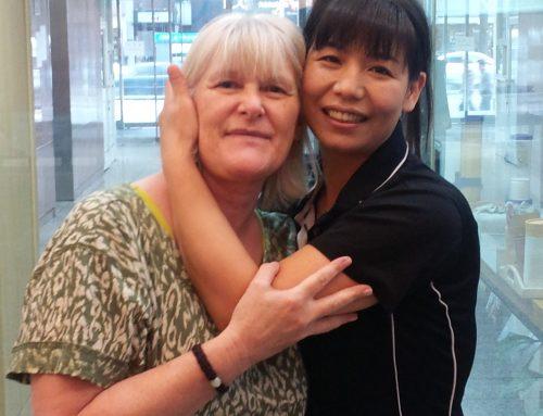 Massage Written Testimonial Nov 2012
